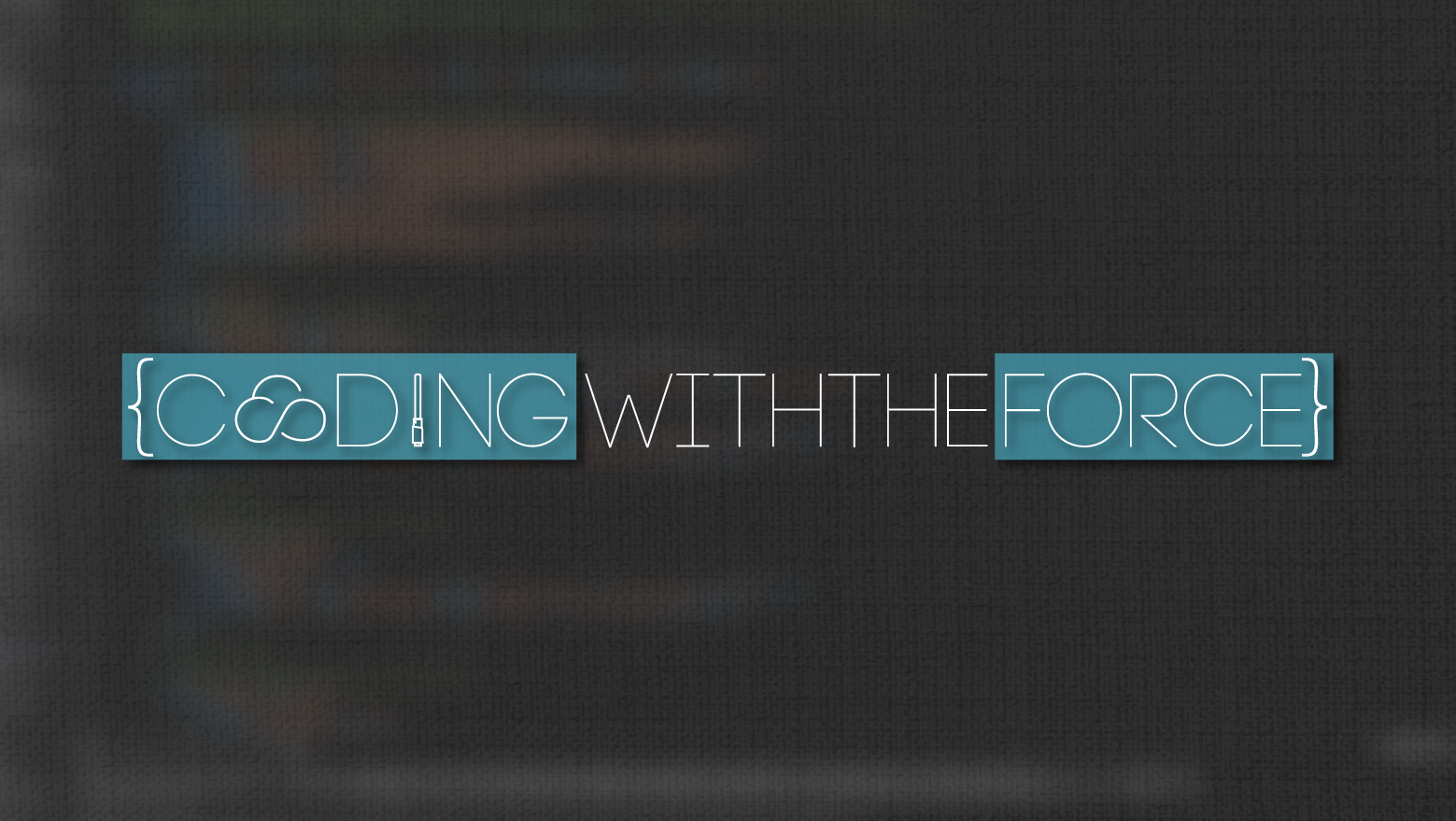 Coding With The Force Banner